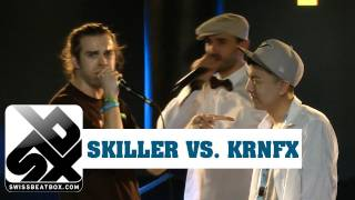 getlinkyoutube.com-Krnfx vs. Skiller - Final Round - Grand Beatbox Battle