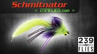 getlinkyoutube.com-The Schmidtinator Fly Tying Video Instructions - 239Flies Fly Pattern
