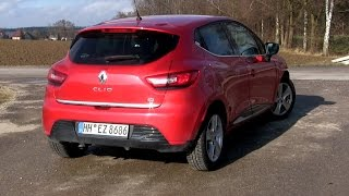 getlinkyoutube.com-2015 Renault Clio 1.5 dCi 90 (90 HP) Test Drive