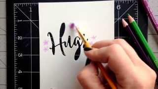getlinkyoutube.com-Watercolor Pencil Technique