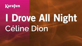 getlinkyoutube.com-Karaoke I Drove All Night - Céline Dion *