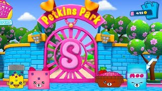 getlinkyoutube.com-NEW Shopkins Welcome To Shopville PETKINS EDITION App Update !  Let's Play In Petkins Park