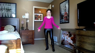 getlinkyoutube.com-Leather Leggings Outfit Looks