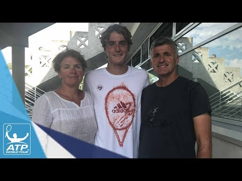 Tsitsipas Family Excited For Stefanos` Roland Garros Debut 2017