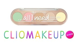 getlinkyoutube.com-Recensione Palette Correttori Essence All I need Concealer Palette Review