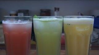getlinkyoutube.com-Drei alkoholfreie Cocktails Teil 1 - Rezepte mit Anleitung