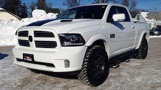 """getlinkyoutube.com-Lifted 2013 Ram 1500 Sport - Winnipeg MB - Leveling Kit, 35"""" Toyo Open Country M/T's"""