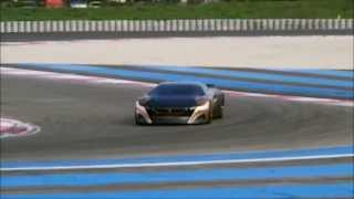 getlinkyoutube.com-Peugeot Onyx Detail & Sound on the track! (HD)