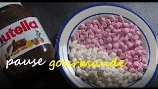 ♡♡♡ Fondue de chamallow et nutella ♡♡♡