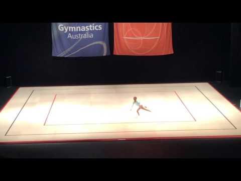 Elisabeth Australian Aerobic Gymnastics National Championships - AG1