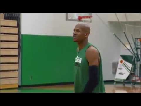 Ray Allen's Basketball Shooting Strategy