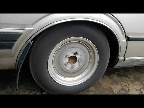 The Sound of Broken Rear axle outer bearing. Nissan cedric 430