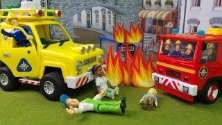 getlinkyoutube.com-🚒🔥 Feuerwehrmann Fireman Sam -  Sam's Awesome Off Duty Rescues