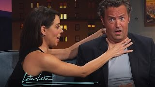 getlinkyoutube.com-Matthew Perry and Aubrey Plaza's 50 Shades of Grey Sequel