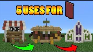 getlinkyoutube.com-Minecraft: 5 Uses For Banners
