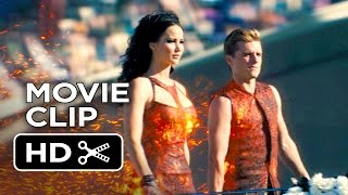 getlinkyoutube.com-The Hunger Games: Catching Fire Movie CLIP #4 - Tribute Parade (2013) Movie HD