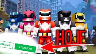 DOWNLOAD DA NOVA ATUALIZAÇÃO DO MINECRAFT POCKET EDITION SAI HOJE !