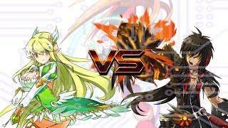 [Elsword] 대전 경기(PvP Match) 48(초록빛무희 vs 실버스내치)
