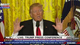 getlinkyoutube.com-MUST WATCH: President Trump Takes ON CNN Reporter Jim Acosta During Press Conference (FNN)