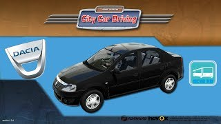 getlinkyoutube.com-[City Car Driving] Dacia Logan [G25]