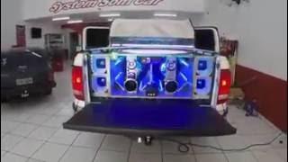 getlinkyoutube.com-Testando o Som da Amarok | Equipe System Som Car