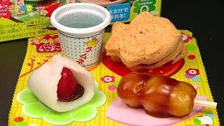 getlinkyoutube.com-Kracie Happy Kitchen Taiyaki & Dango kit ハッピーキッチン たいやき&おだんご作り