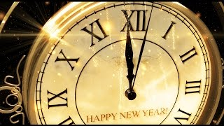 getlinkyoutube.com-Happy New Year CLOCK 2017 ( v 473 ) Original Countdown Timer with Sound Effects + Voice