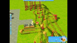 getlinkyoutube.com-Let`s Build Roller Coaster Tycoon 3 Kirmes Part 5