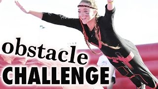 getlinkyoutube.com-The Ridiculous Obstacle Challenge! | Sam & Teagan