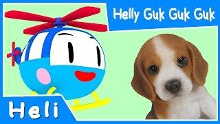 getlinkyoutube.com-Helly Guk Guk Guk | Animasi Lagu Anak Indonesia | Lagu Heli si Helikopter untuk anak