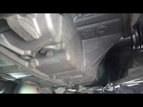 Lincoln MKX Ford Edge Transmission Fluid change transaxle
