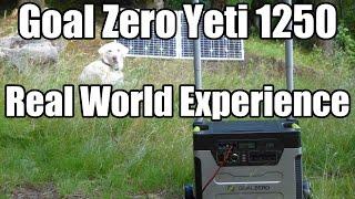 getlinkyoutube.com-Goal Zero Yeti 1250 Real World Experience