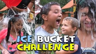 getlinkyoutube.com-SKYLANDER BOY and GIRL take the ICE BUCKET CHALLENGE! w/ Lightcore Chase & Mom (Nominates...) ALS