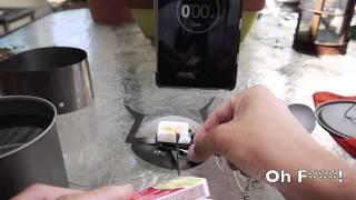 getlinkyoutube.com-LiteTrail Titanium Solid Fuel Cook System