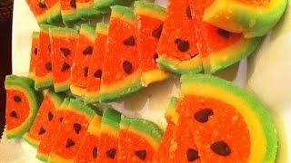 getlinkyoutube.com-Watermelon Burfi/Fudge