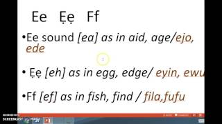 getlinkyoutube.com-Yoruba Alphabet Phonics part 1