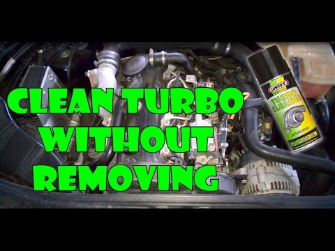 How to clean TURBO without removing!