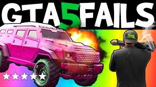 getlinkyoutube.com-GTA 5 FAILS – EP. 19 (Funny moments compilation online Grand theft Auto V Gameplay)