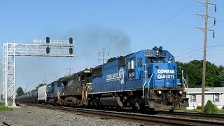 getlinkyoutube.com-Trains on the Norfolk Southern Harrisburg Line 2008: Volume 3