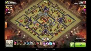 getlinkyoutube.com-GoLava 3 Star Attack Strategy on TH10 - Clash of Clans