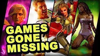 7 Huge Games That Have Gone Missing