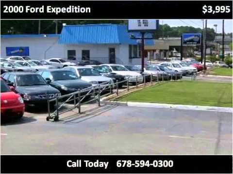 2000 Ford Expedition Used Cars MARIETTA GA