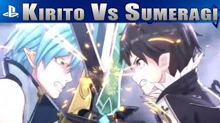 getlinkyoutube.com-Kirito vs Sumeragi - Sword Art Online Lost Song [Animation]