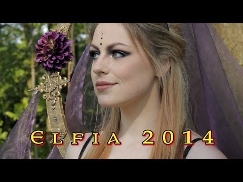 first day of Elfia (Elf Fantasy Fair) saturday 19th of april 2014