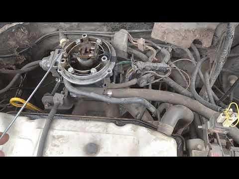 Форд эскорт 91-96 экскурсия по датчикам под капотом