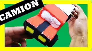 getlinkyoutube.com-DIY : Como Hacer  Camiones / How to Make Trucks - Christmas decoration