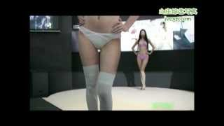 getlinkyoutube.com-2008 深圳內衣展DIM內衣秀 PART A