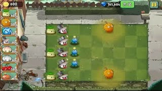 getlinkyoutube.com-Plants vs Zombies 2 Chinese - Mischief Radish and Endurian (Lvl 4 with Costume)