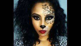 Sexy Cat/Leopard/Cheetah/ Makeup (Halloween)