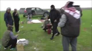 getlinkyoutube.com-مقناص صيد الحباري في اذربيجان شهر 12 / 2014  hunting Azerbaijan